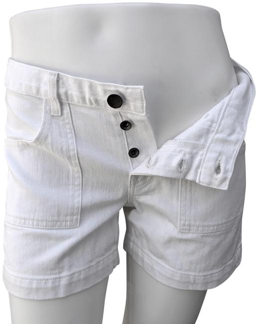 Item - White Nwot Mid-rise Button Fly Denim Shorts Size 6 (S, 28)