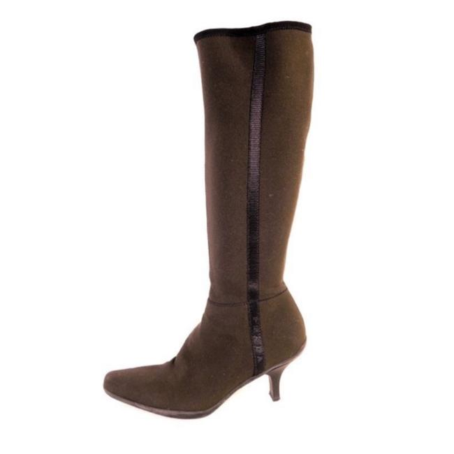Item - Brown Knee High Boots/Booties Size US 5.5 Regular (M, B)