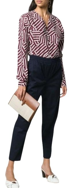 Item - Navy Easy Trouser In Classic Chino Pant Suit Size 8 (M)