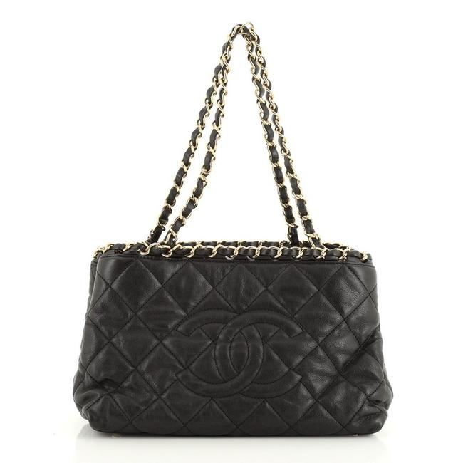 Chanel Chain Me Tote Quilted Calfskin Small Shoulder Bag Chanel Chain Me Tote Quilted Calfskin Small Shoulder Bag Image 1