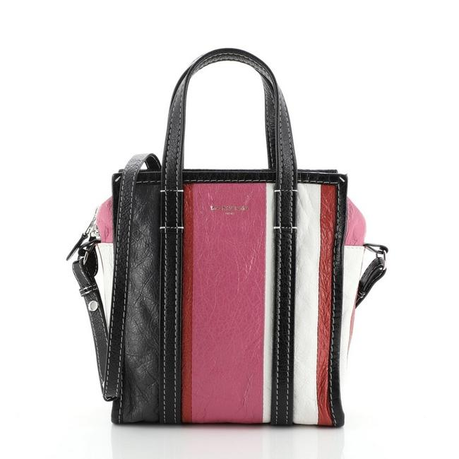 Balenciaga XS Bazar Convertible Leather Tote Balenciaga XS Bazar Convertible Leather Tote Image 1