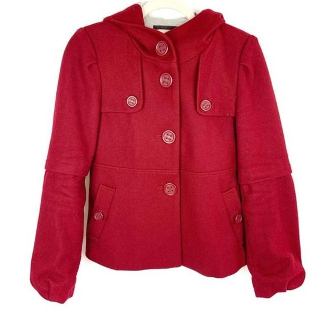 Preload https://img-static.tradesy.com/item/27669897/anthropologie-red-anthro-elevenses-wool-jacket-sweatshirthoodie-size-4-s-0-0-650-650.jpg