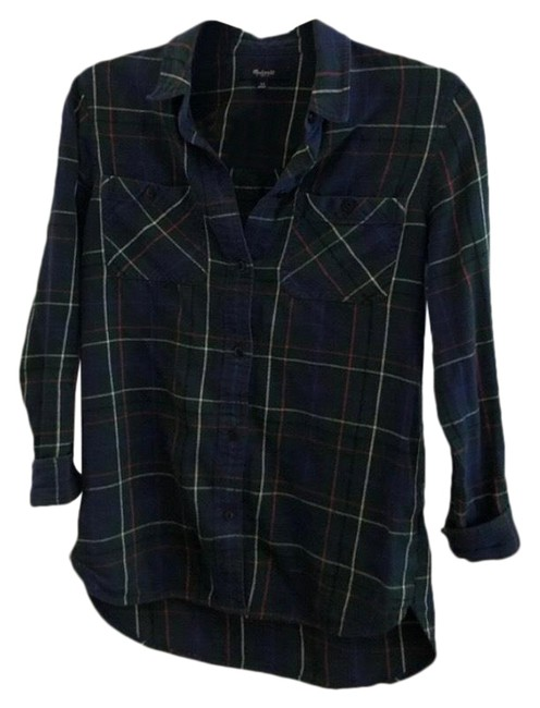 Preload https://img-static.tradesy.com/item/27669978/madewell-flannel-button-down-top-size-0-xs-0-1-650-650.jpg