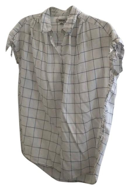 Preload https://img-static.tradesy.com/item/27669987/madewell-short-sleeve-button-down-top-size-0-xs-0-1-650-650.jpg