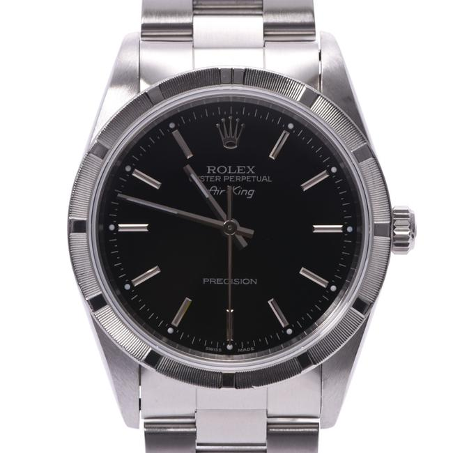 Rolex Air King 14010 Men's Ss Wrist Dial Watch Rolex Air King 14010 Men's Ss Wrist Dial Watch Image 1