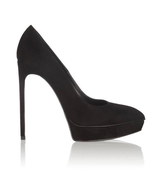 Saint Laurent Black Janis Pumps Size EU 38 (Approx. US 8) Regular (M, B) Saint Laurent Black Janis Pumps Size EU 38 (Approx. US 8) Regular (M, B) Image 1