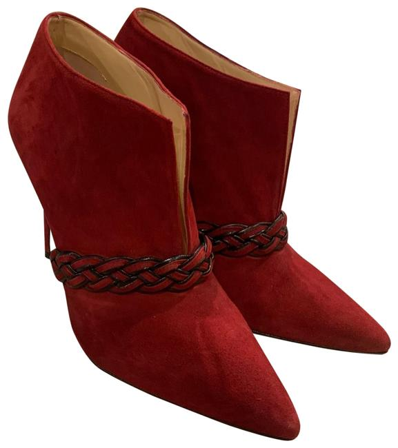 Alexandre Birman Red Ankle Boots/Booties Size EU 36.5 (Approx. US 6.5) Regular (M, B) Alexandre Birman Red Ankle Boots/Booties Size EU 36.5 (Approx. US 6.5) Regular (M, B) Image 1