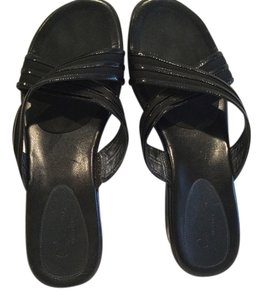 Cole Haan Nikeair Soles Black Sandals