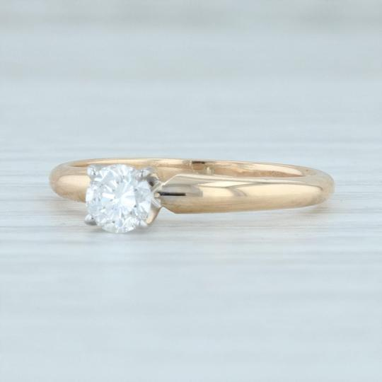 Preload https://img-static.tradesy.com/item/27670493/yellow-gold-035ct-diamond-14k-round-brilliant-solitaire-igi-engagement-ring-0-0-540-540.jpg