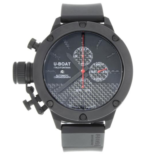 Preload https://img-static.tradesy.com/item/27670503/u-boat-titanium-black-6549-classico-53-dial-chronograph-mens-watch-0-0-540-540.jpg