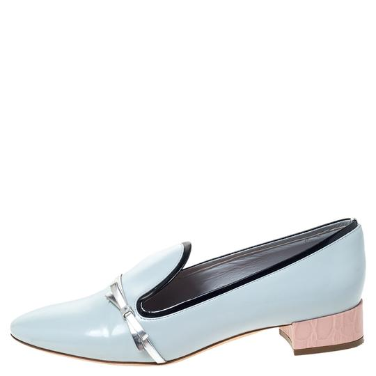 Preload https://img-static.tradesy.com/item/27670548/dior-blue-leather-bow-ballet-flats-size-us-55-regular-m-b-0-0-540-540.jpg