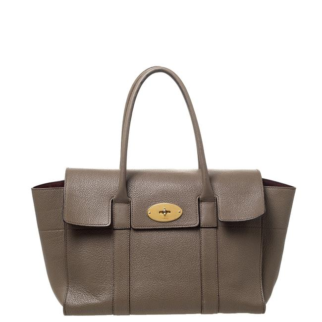Mulberry Khaki Bayswater Brown Leather Satchel Mulberry Khaki Bayswater Brown Leather Satchel Image 1