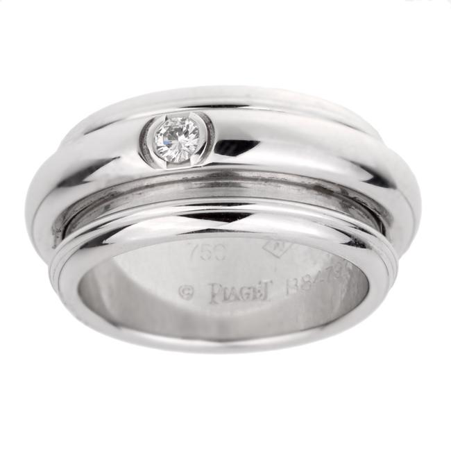 Piaget White Gold Possession Diamond Band 1910 Ring Piaget White Gold Possession Diamond Band 1910 Ring Image 1