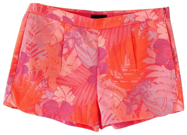Item - Pink Collection Tropical Jacquard Neon Shorts Size 0 (XS, 25)