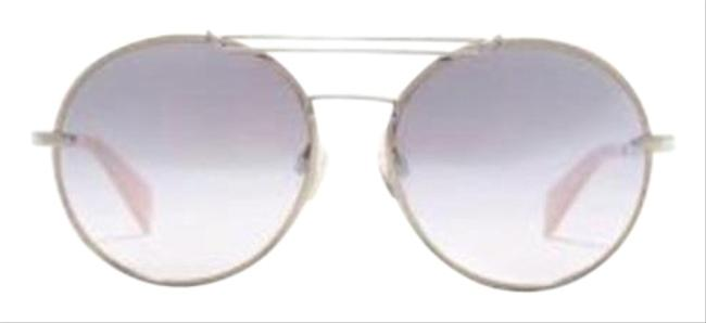 Item - Silver Womens 59mm Round Style # Rnb1011s-m Sunglasses