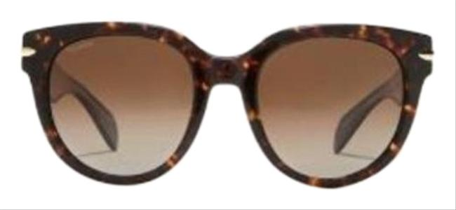 Item - Brown Womens 54mm Rounded Style # Rnb1003s Sunglasses