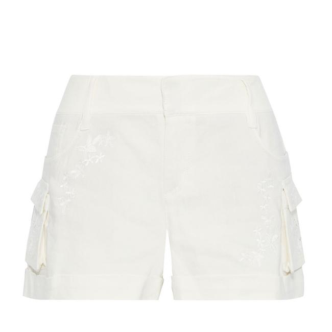 Item - Ivory Cady Embroidered Shorts Size 12 (L, 32, 33)