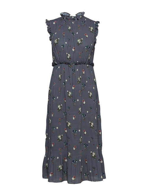 Preload https://img-static.tradesy.com/item/27671971/ted-baker-grey-toppaz-oracle-pleated-smock-mid-length-casual-maxi-dress-size-4-s-0-0-650-650.jpg