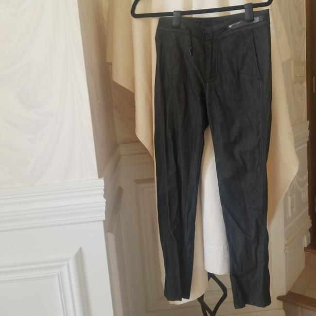 Item - Dark Grey Acid Vintage Leather Trim For Sport and Travel Relaxed Fit Jeans Size 18 (XL, Plus 0x)