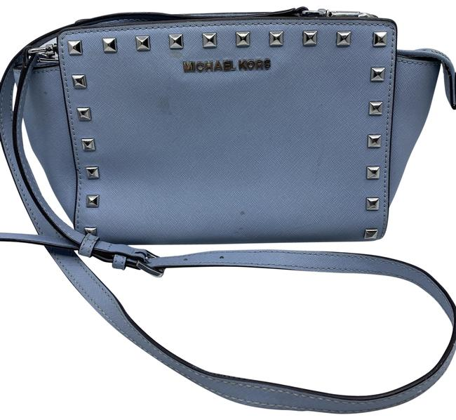Item - Trapeze Small Cross-body Grey Leather Shoulder Bag