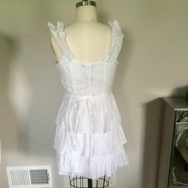 Grass Collection short dress White on Tradesy