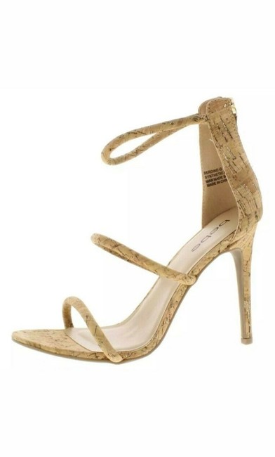 bebe Beige Cork Pumps Size US 9.5 Regular (M, B) bebe Beige Cork Pumps Size US 9.5 Regular (M, B) Image 1