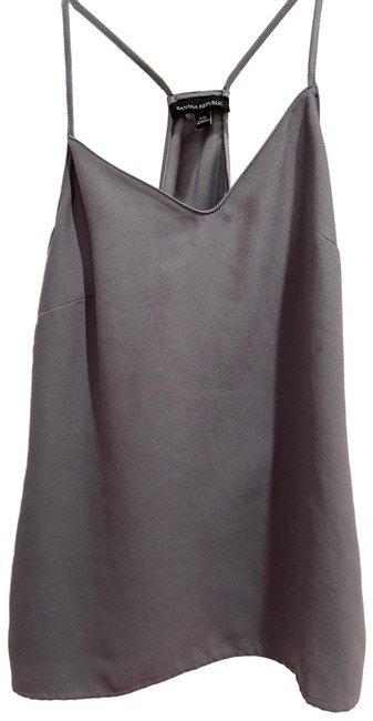 Item - Grey Shirt Tank Top/Cami Size 2 (XS)