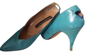 MAUD FRIZON Teal Pumps