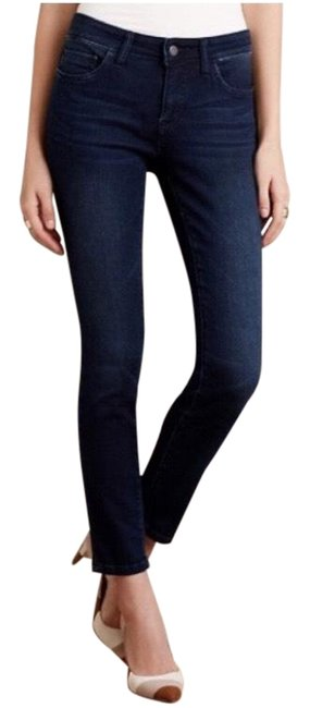 Item - Dark Rinse Pilcro Stet Ankle Wash 26 Skinny Jeans Size 2 (XS, 26)