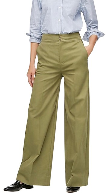 Item - Loden Green Frankie In Stretch Twill Pants Size 4 (S, 27)