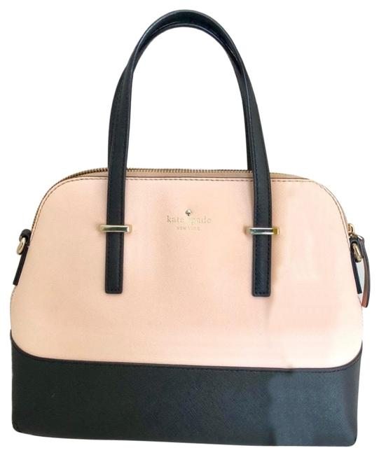 Item - Two Toned Black and Pink Patent Leather Tote