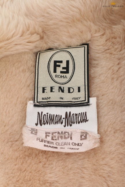 Fendi Brown Woman's Suede By Neiman Marcus Coat Size 6 (S) Fendi Brown Woman's Suede By Neiman Marcus Coat Size 6 (S) Image 4