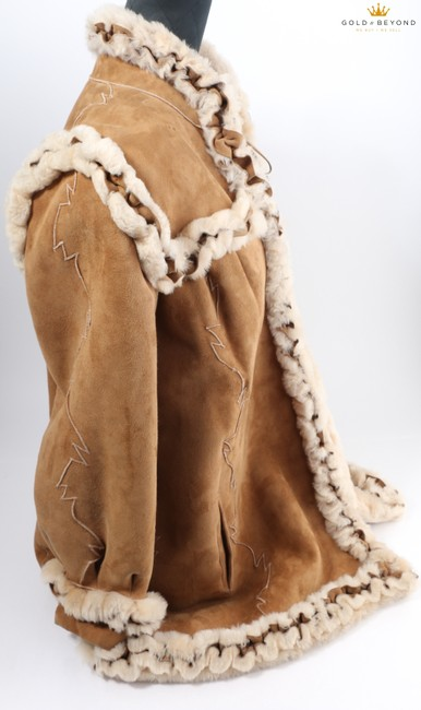 Fendi Brown Woman's Suede By Neiman Marcus Coat Size 6 (S) Fendi Brown Woman's Suede By Neiman Marcus Coat Size 6 (S) Image 6
