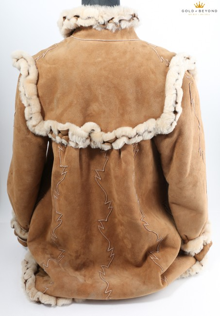 Fendi Brown Woman's Suede By Neiman Marcus Coat Size 6 (S) Fendi Brown Woman's Suede By Neiman Marcus Coat Size 6 (S) Image 7