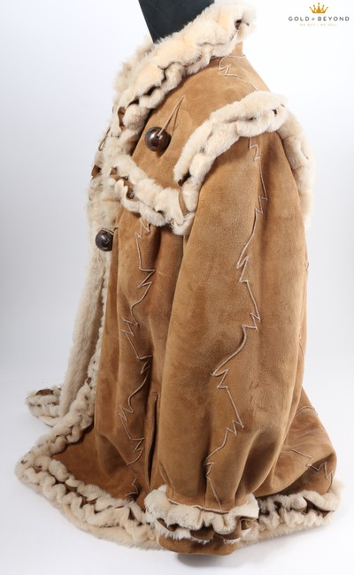 Fendi Brown Woman's Suede By Neiman Marcus Coat Size 6 (S) Fendi Brown Woman's Suede By Neiman Marcus Coat Size 6 (S) Image 9