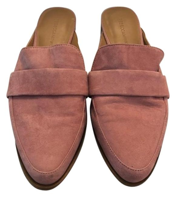 Item - Pink Suede Loafers Mules/Slides Size US 8 Regular (M, B)