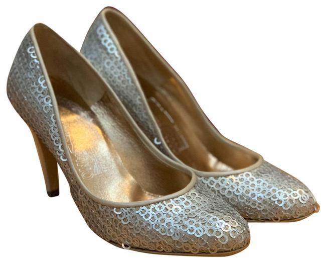 Item - Sliver Pumps Size EU 37 (Approx. US 7) Regular (M, B)