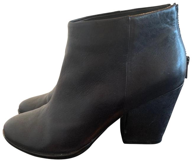 Item - Black Leather Boots/Booties Size US 9 Regular (M, B)