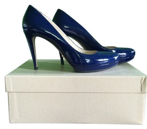 Prada Blue Pumps
