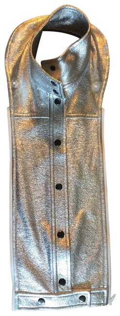 Item - Silver Rocco Snap Front Dickey Vest Size OS (one size)