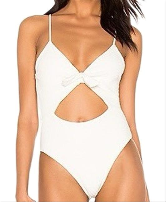 Item - White Crossroads Texture Miss Molly One-piece Bathing Suit Size 12 (L)