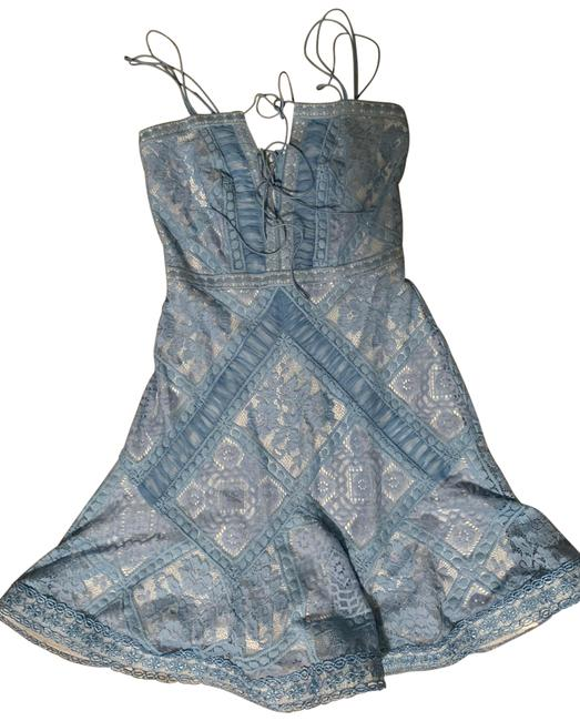 Item - Blue Myraim Short Cocktail Dress Size 00 (XXS)