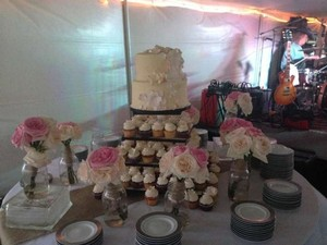 Tiered Cake And Cupcake Stand