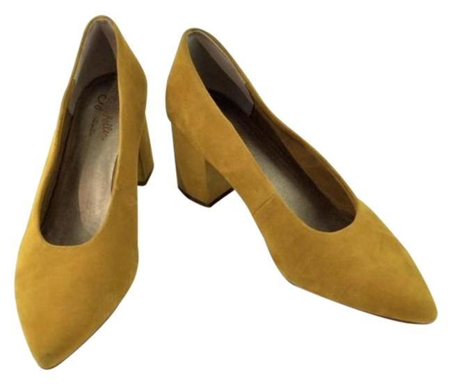 Item - Yellow Women's Rehearse Suede Musthardpointy Pumps Size US 6.5 Regular (M, B)