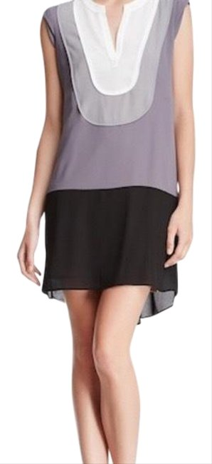 Item - Gray Harlow Mid-length Short Casual Dress Size 8 (M)