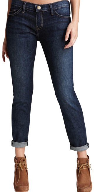 Item - Blue Medium Wash Rolled In Adventure Skinny Jeans Size 6 (S, 28)