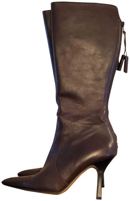 Item - Brown Leather Boots/Booties Size US 7.5 Regular (M, B)