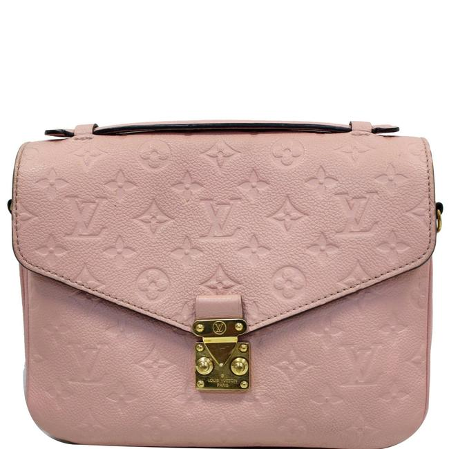 Item - Pochette Metis Poud Rose Poudre Monogram Empreinte Leather Cross Body Bag