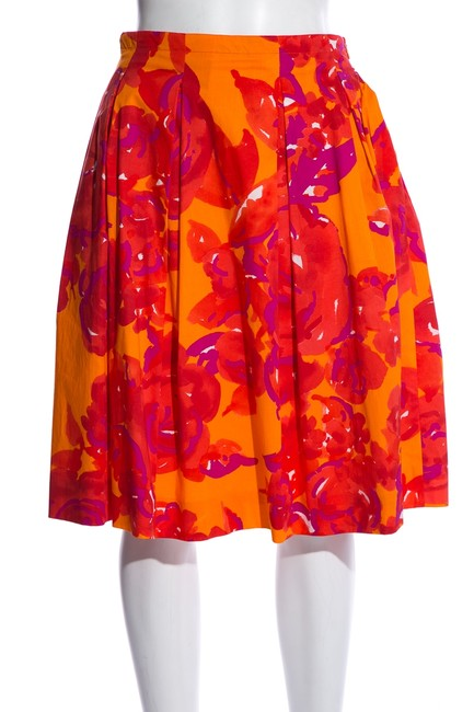 Item - Multicolor Floral Skirt Size 2 (XS, 26)