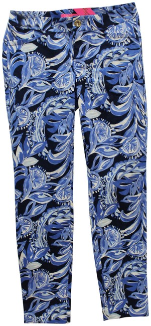 Item - Blue Kelly Ankle High Tide Youre The Zest Pants Size 0 (XS, 25)